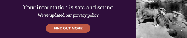 Your information is safe and sound - we've updated our privacy policy